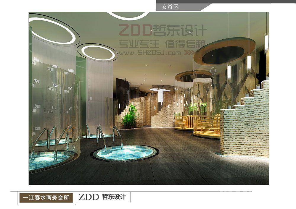 一江春水洗浴会所设计